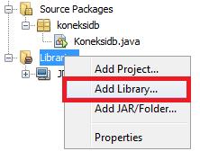 Koneksi Java dengan Database MySQL