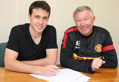 Henriquez Ferguson Manchester United 2012