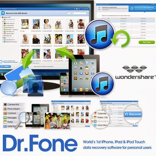 Wondershare Dr.Fone for iOS 5.3.1 Multilingual + Serial