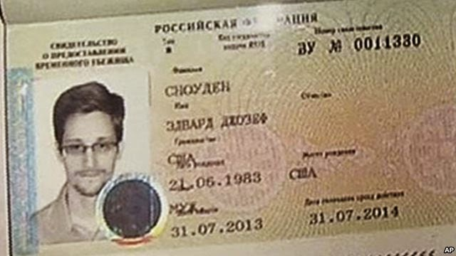 Edward Snowden Asylum