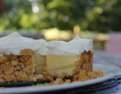 Lemon Pie with a Saltine Crust (AKA Bill Smith's Atlantic Beach Pie)
