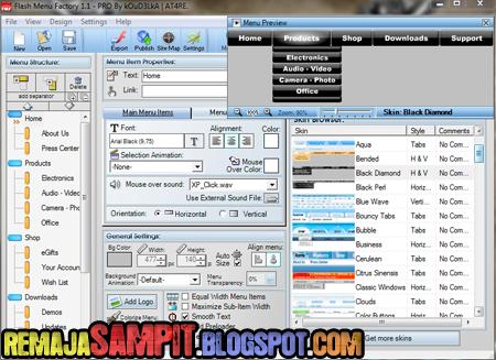 Software yang Dapat Digunakan Untuk Membuat Dropdown Menu