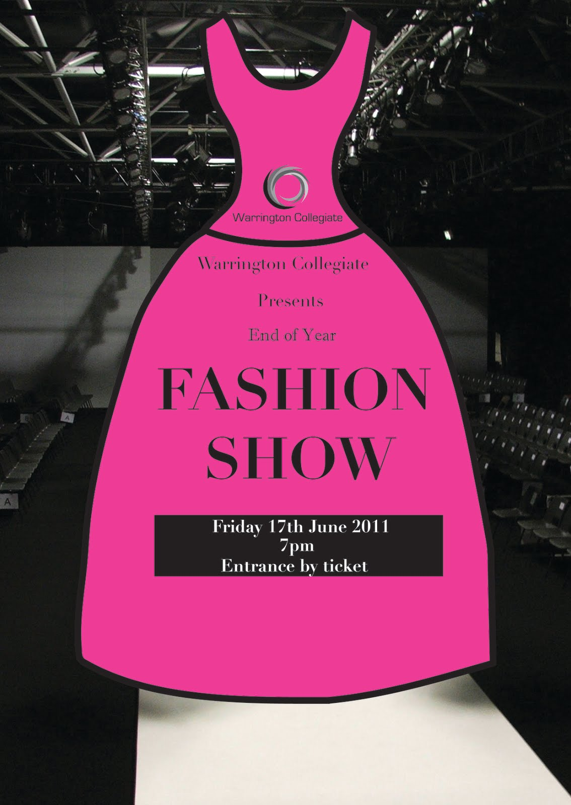 Fashion show flyer templates