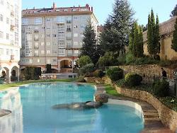 Piso de dos dormitorios en venta en Urbanización Los Arces, piscina, garaje. 139.000€