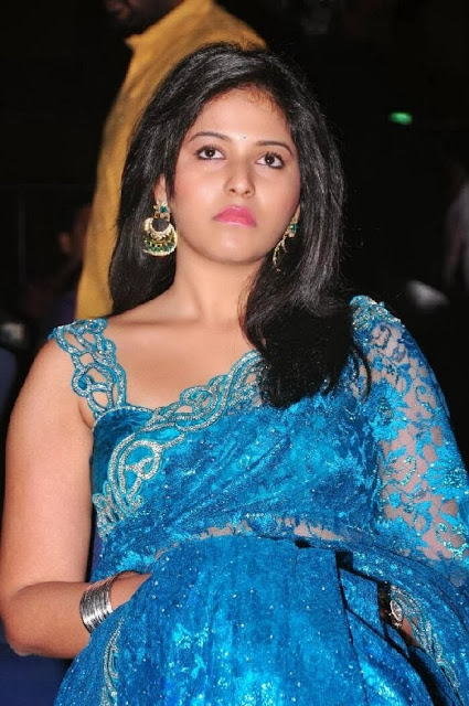 Anjali in Saree at Preminchali Movie