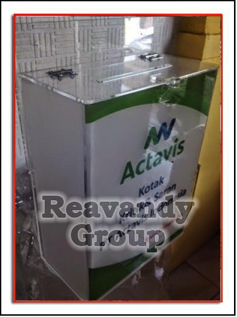 Acrylic Dan Akrilik Kotak Saran Akrilik
