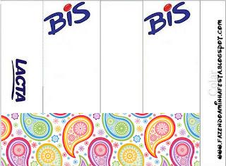 Etiquetas de Cachemira para imprimir gratis.