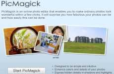PicMagick: editor de fotos online gratuito