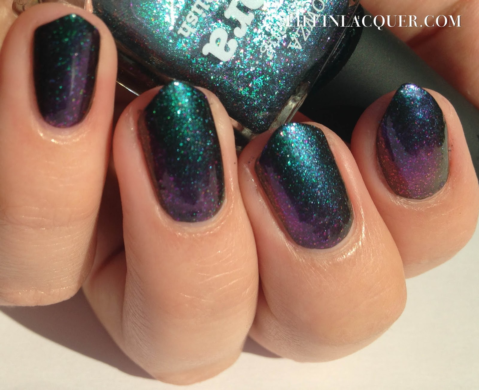 piCture pOlish Aurora indie swatch sunlight duo multi chrome