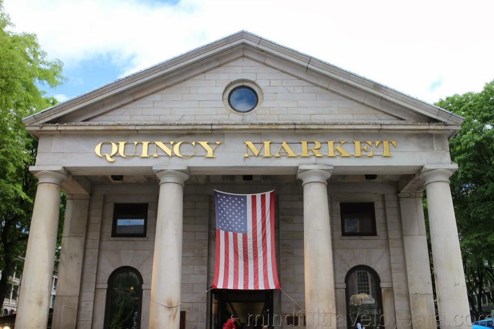 Dónde comer en Boston: Quincy Market