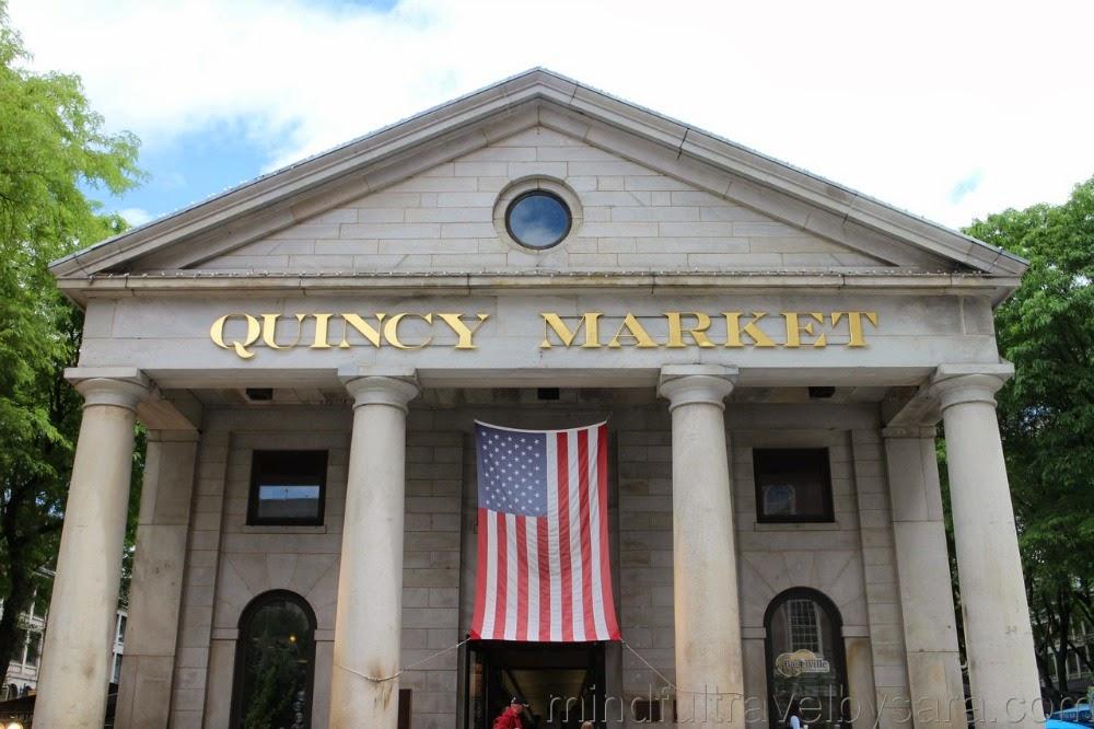 Dónde comer en Boston: Quincy Market