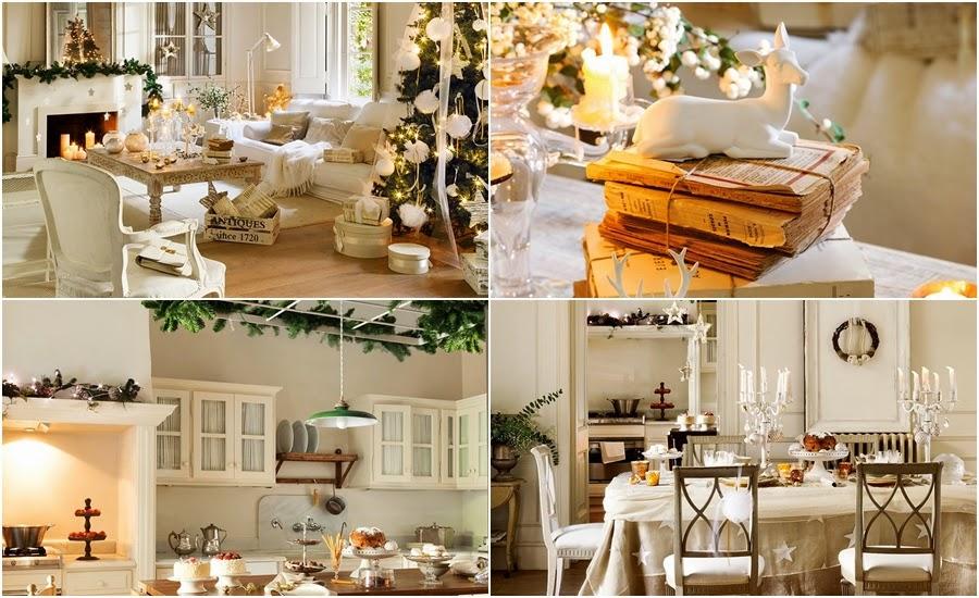 wystrój wnętrz, home decor, wnętrza, styl francuski, urządzanie mieszkania, Boże Narodzenie, Święta, zima, ozdoby świąteczne, styl francuski, białe wnętrza, biel, styl skandynawski, złote akcenty, choinka