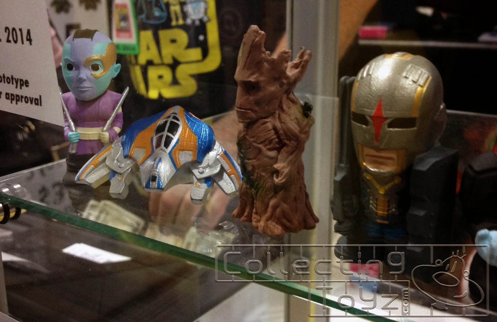 Huckleberry Toys had a display case filled with Yubi's Finger Puppet  Prototypes from Guardians of the Galaxy, Godzilla and How To Train Your  Dragon 2 at ...