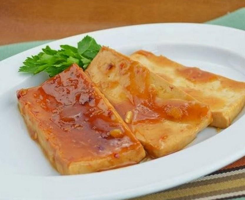 Tofu ao Molho de Gengibre e Limão (vegana)