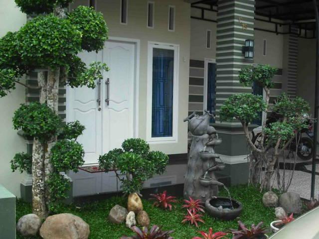 10 desain gambar taman rumah cantik modern sederhana dan minimalis