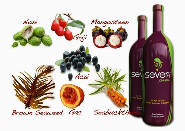 Superfood di dalam Exfuze Seven Plus Classic