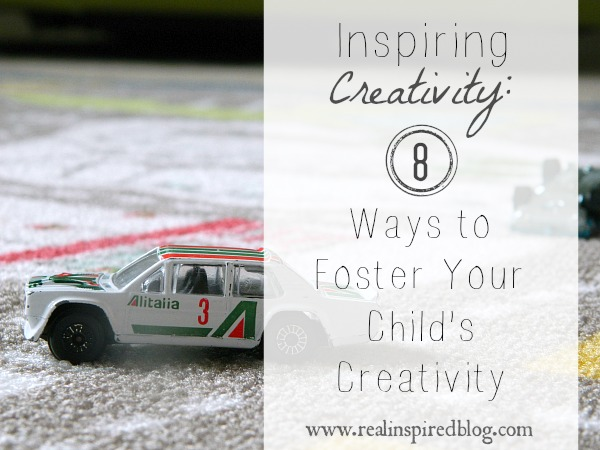 8 Ways to Foster Your Child's Creativity