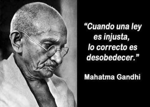 Gandhi asi liberó  a la India
