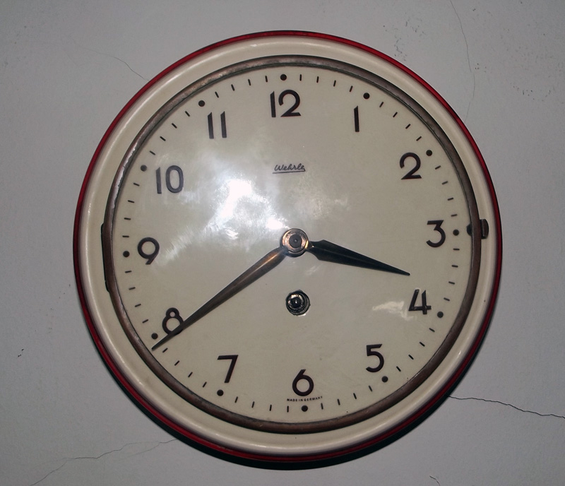 WEHRLE KITCHEN CLOCK MADE IN GERMANY