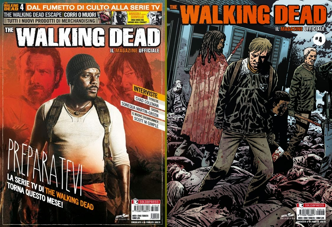 The Walking Dead Magazine #4