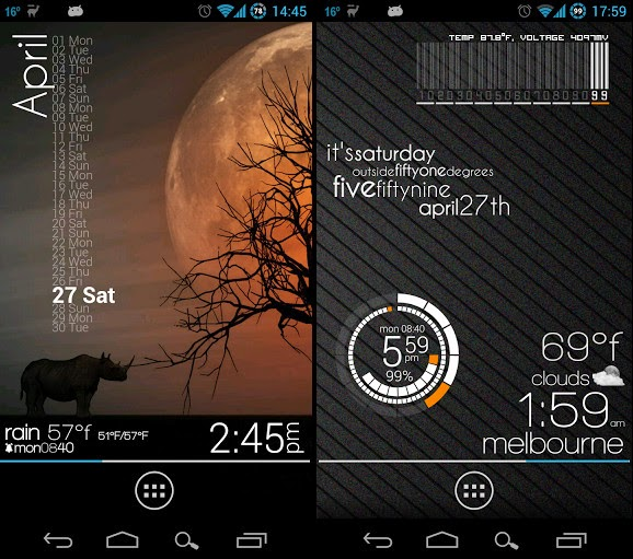 Zooper Widget Pro screenshot2