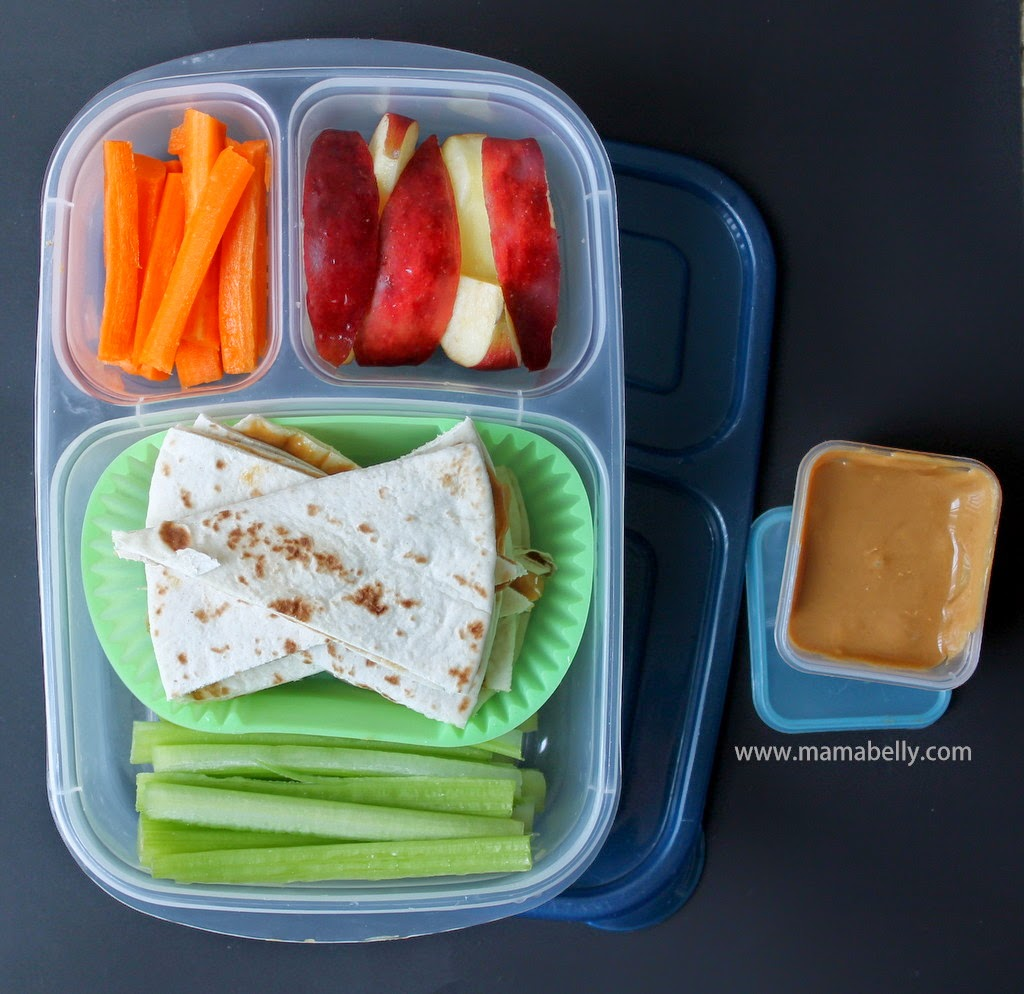 Easylunchboxes for Peanut Butter Lovers - mamabelly.com