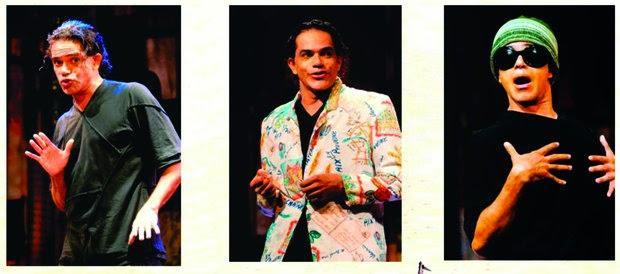 """Espetáculo """"Um Caso de Língua"""" em cartaz no TCS"""