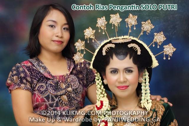 Contoh Rias Pengantin SOLO PUTRI oleh PANJIWEDDING.GA Rias Pengantin - Foto oleh : KLIKMG Fotografi