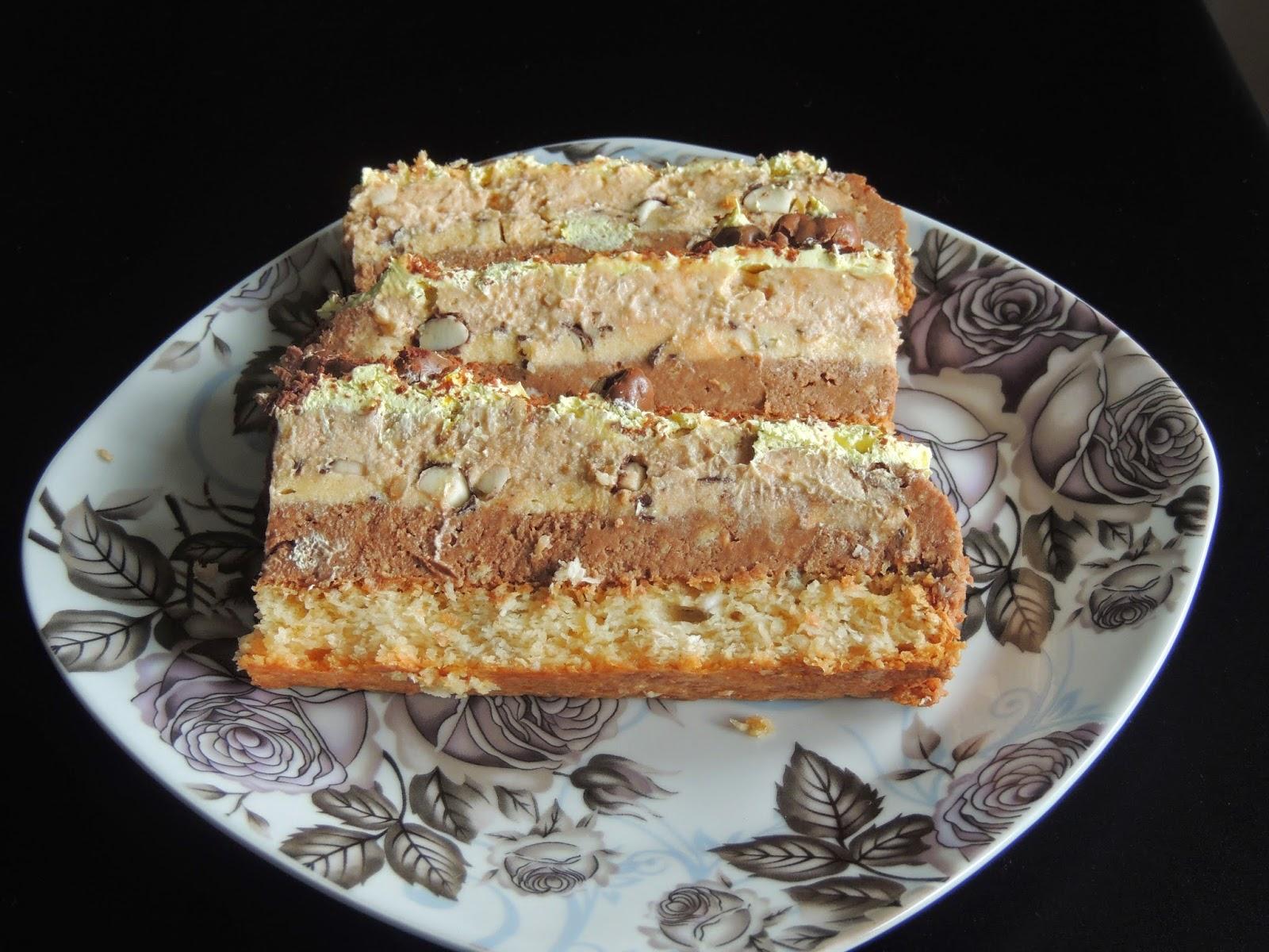 Najlon torta sa mlevenim keksom