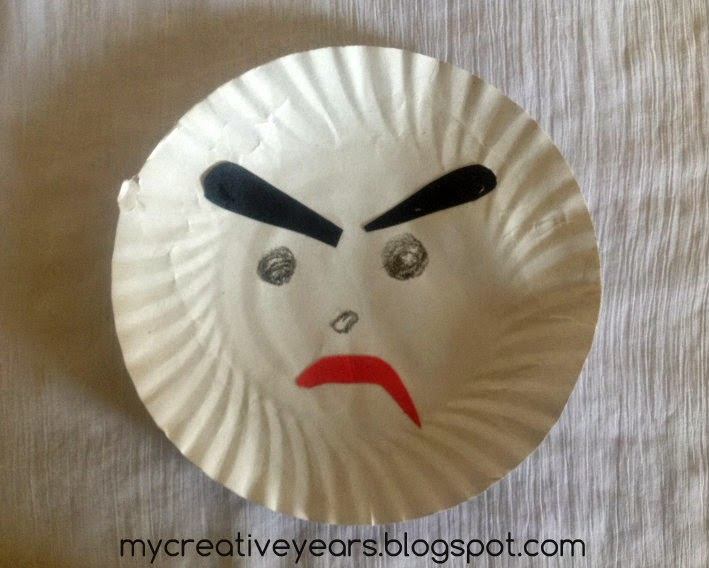 & Paper Plate Angry Bird Craft