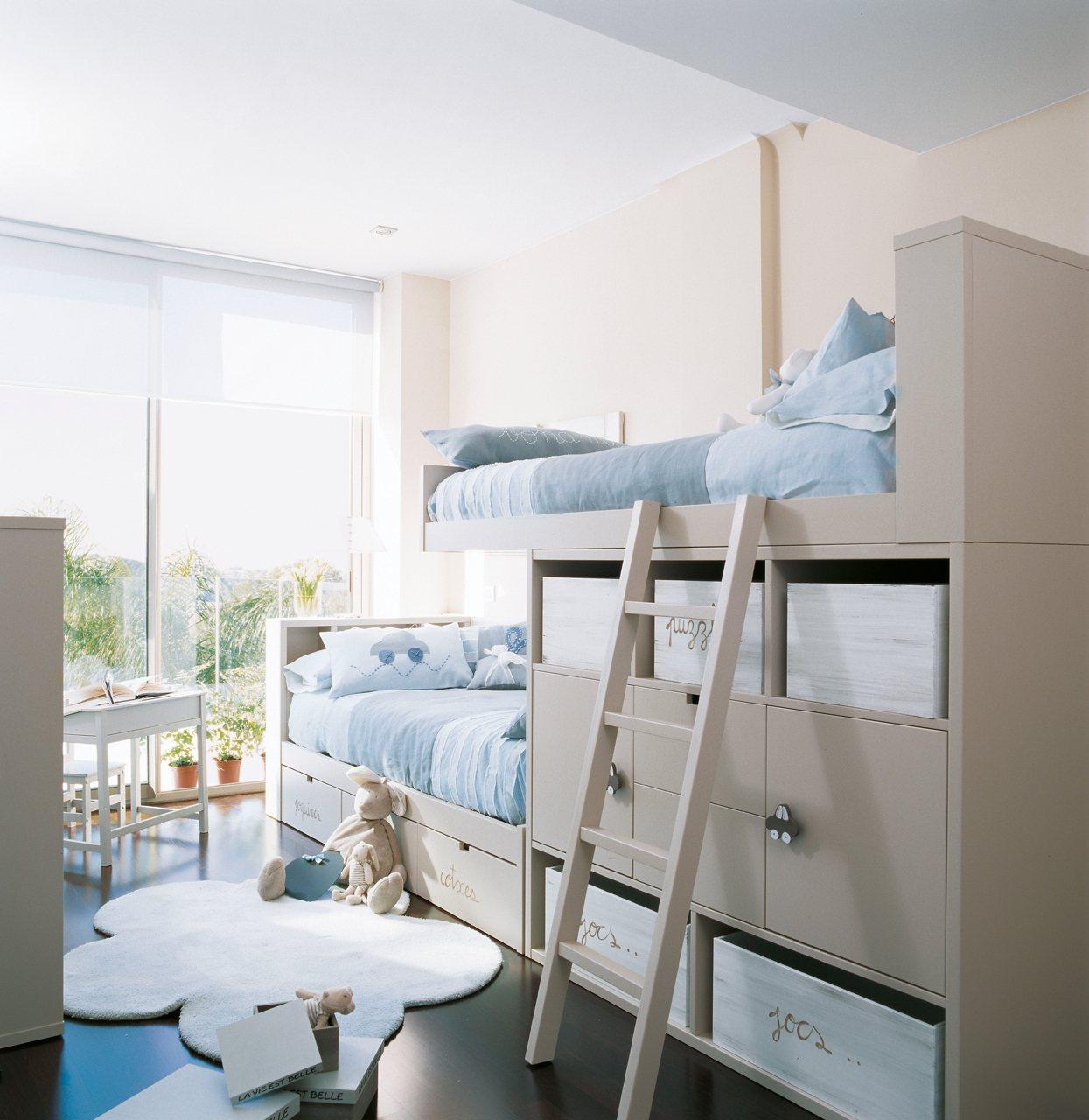 Blog by nela habitaciones infantiles sanas y ecol gicas - Habitaciones para tres ...