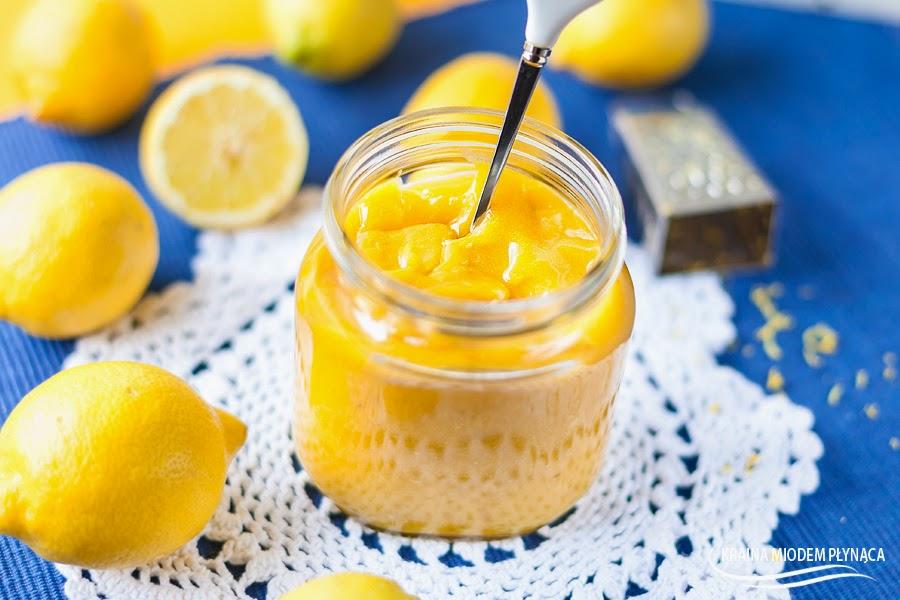 lemon curd, krem cytrynowy, masa cytrynowa, krem do ciast i tortów, słońce w słoiczku