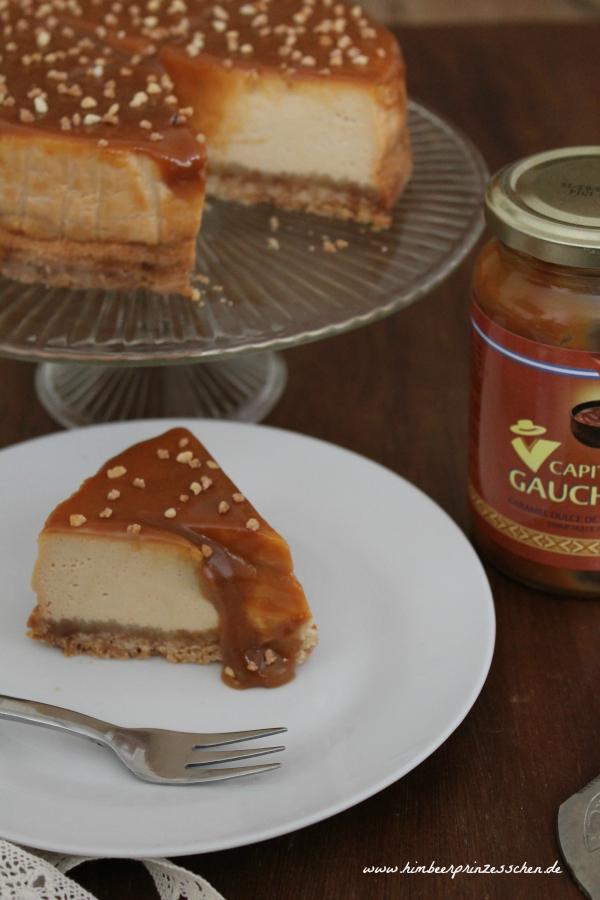 Alles Käse Himbeerprinzesschen Cheesecake Dulce de Leche Tortenplatte