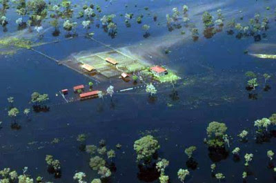 EFECTOS CATASTROFICOS POR CAMBIO CLIMATICO
