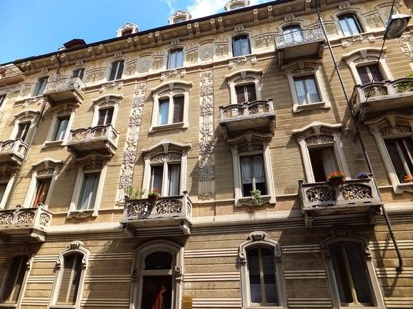 Turin Italie art nouveau Liberty corso francia casa tasca