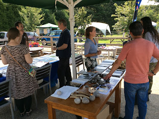 Last years Stall Holders and Visitors at NFNPA History Event.
