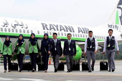 Rayani Air, syarikat penerbangan patuhi syariah
