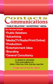 CONTACTS COMMUNICATIONS