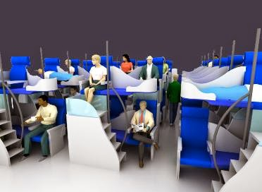 Economy Class Bunk Bed Concept