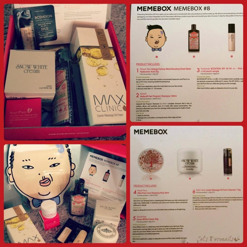 Memebox Korean beauty box