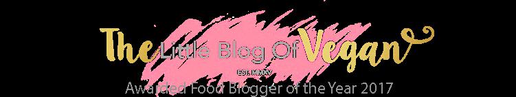 The Little Blog Of Vegan