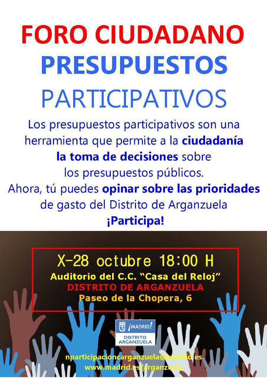 Arganzuela Participa en los Presupuetos