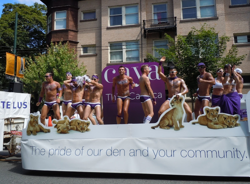 Telus float Vancouver Pride Parade