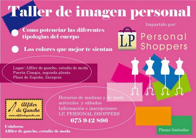 Taller en Alfiler de Gancho con LP, Personal Shoppers