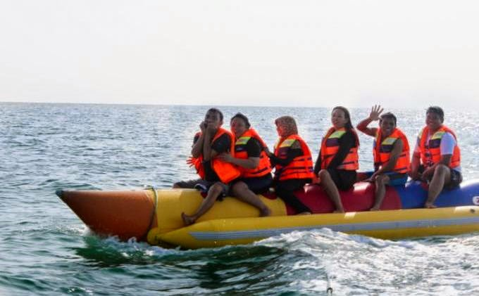 Banana Boat Pulau Beras Basah