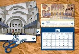 jugendstil-wandkalender 2013  der kultur-initiative volksbad