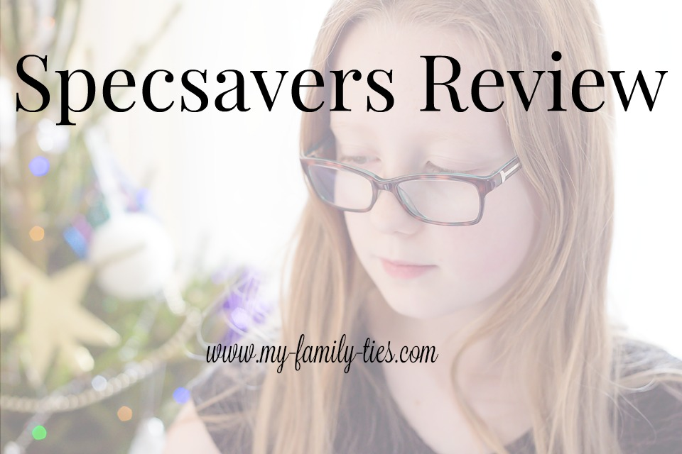 Review of Specsavers children's tortoiseshell glasses photos by My Family Ties Blog www.my-family-ties.com