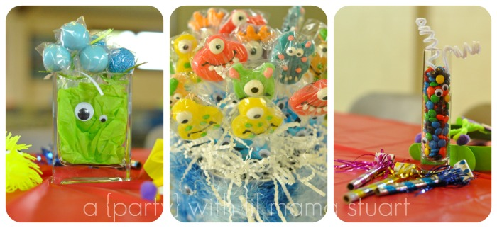 a day with lil mama stuart Monster First Birthday Party Decorations