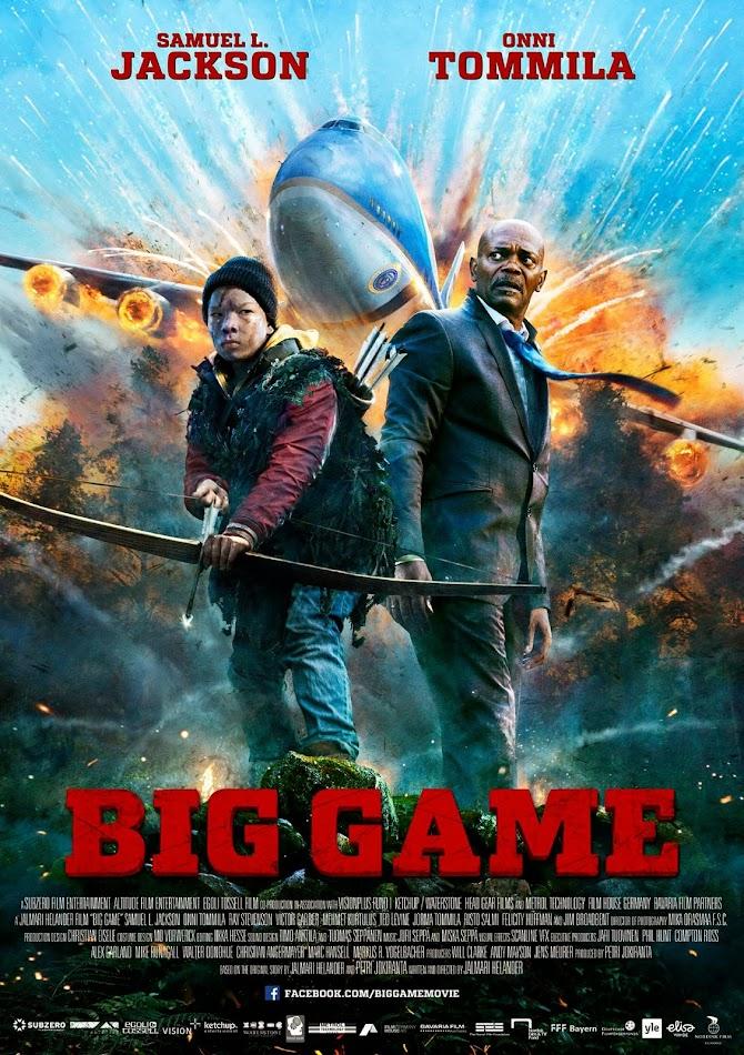 ตัวอย่างหนังใหม่ : Big Game (บิ๊กเกม เกมล่าประธานาธิบดี) ซับไทย poster