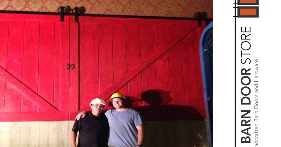 arizona barn doors  our custom barn doors installed at the road house cinema
